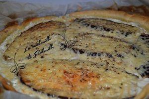 Tarte aubergine mozzarella ricotta