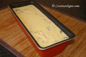 Cake au thon et aux olives noires