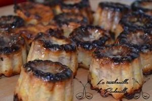 Cannelés foie gras confiture de figues