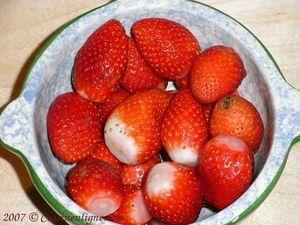 Chantilly de fruits rouges aux bananes
