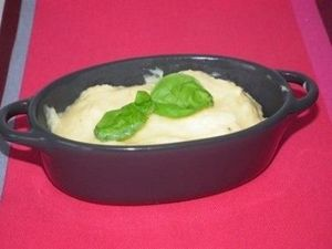 Polenta crémeuse au parmesan (avec et sans thermomix)