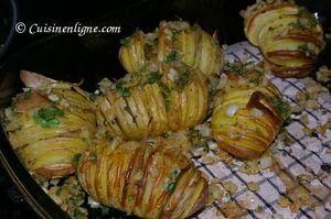 Pommes de terre à la suédoise (au four)
