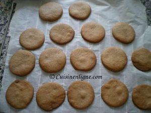 Sablés fourrés à la confiture et marshmallow (Wagon wheels)