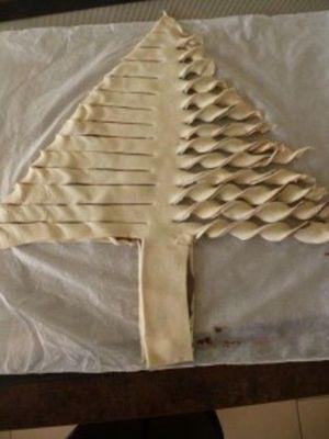 Sapin de Noël au chocolat et M&M's