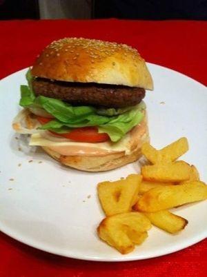 Sauce pour hamburger (avec et sans thermomix)
