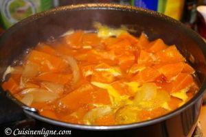 Soupe de potimarron à la noisette