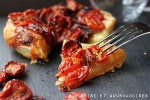 Tartelette aux tomates confites et roubine de Noyan