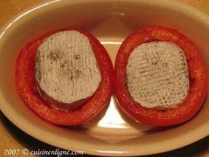 Tomates grillées au chèvre